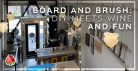 Board and Brush: DIY meets Wine and Fun in Southeast Portland!