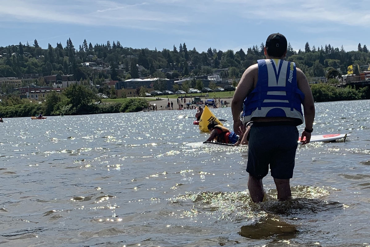 Paddle Up on the Hood River in Portland