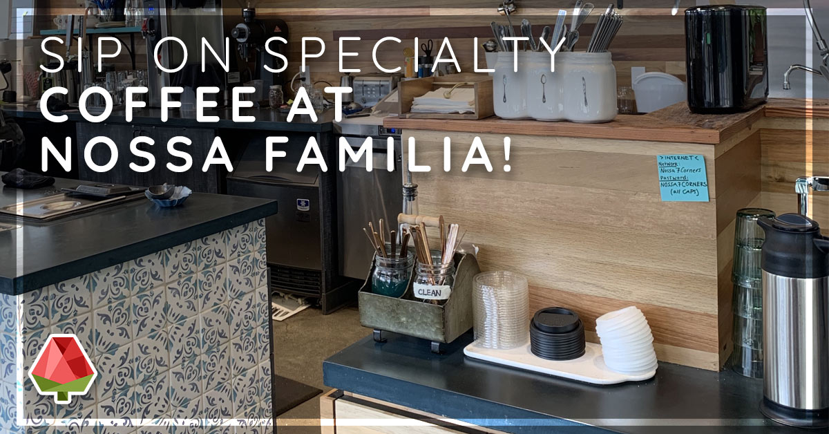 Sip on Specialty Coffee at Nossa Familia Seven Corners Cafe!
