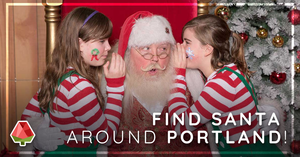 Where to Find Santa Around Portland