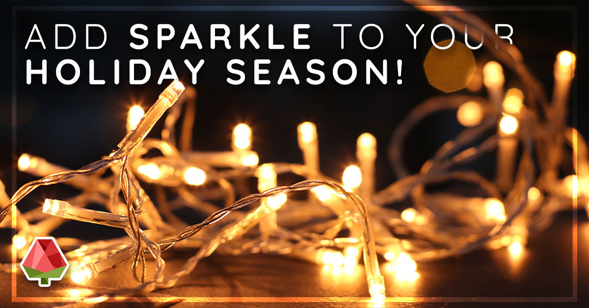 Add Some Sparkle to Your Holiday Season