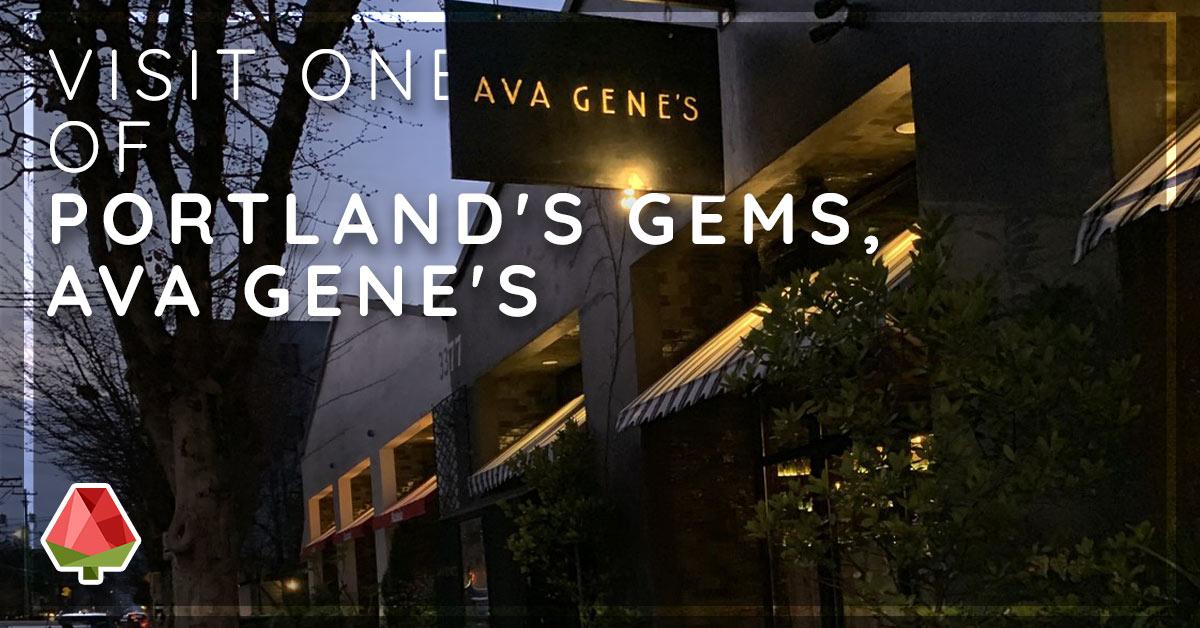 Visit One of Portland's Gems, Ava Gene's