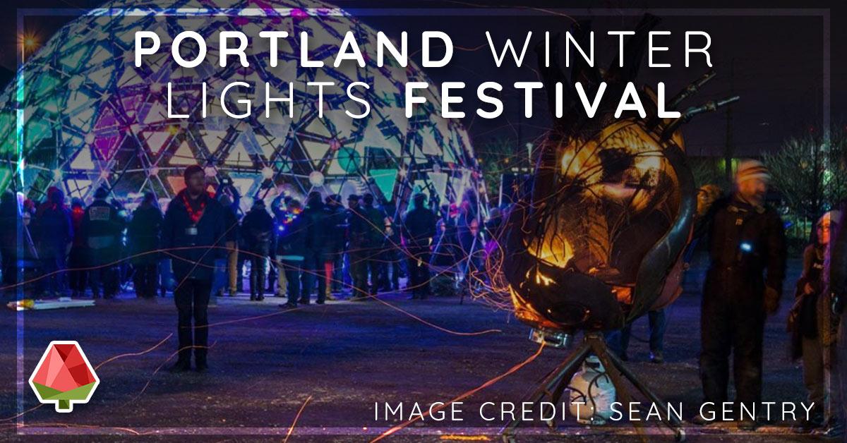 Portland Winter Lights Festival