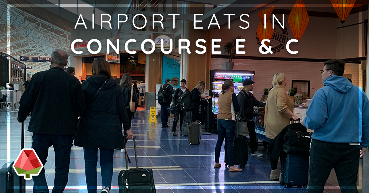 Where to Eat at the PDX Airport