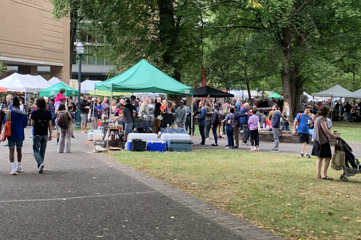 Portland Farmers Market at Portland State University